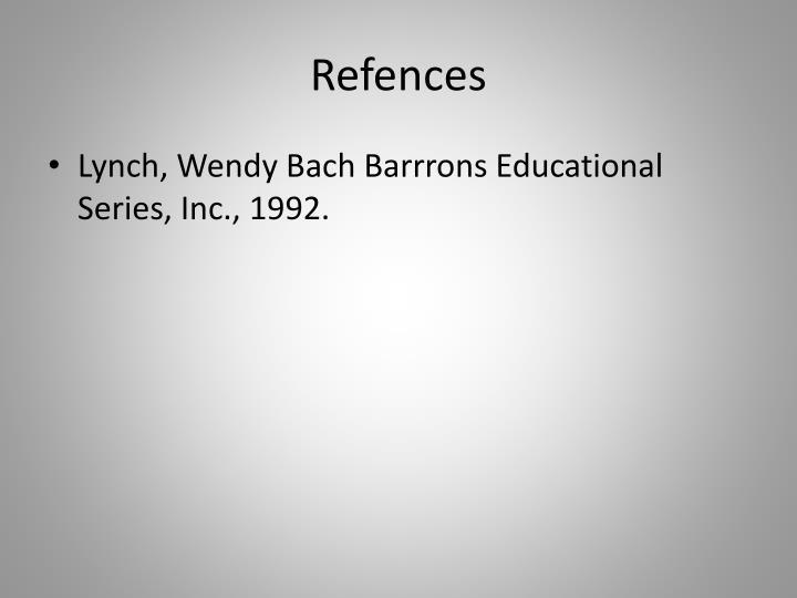 Refences