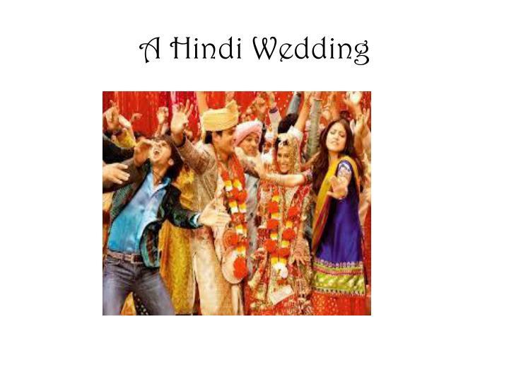 A Hindi