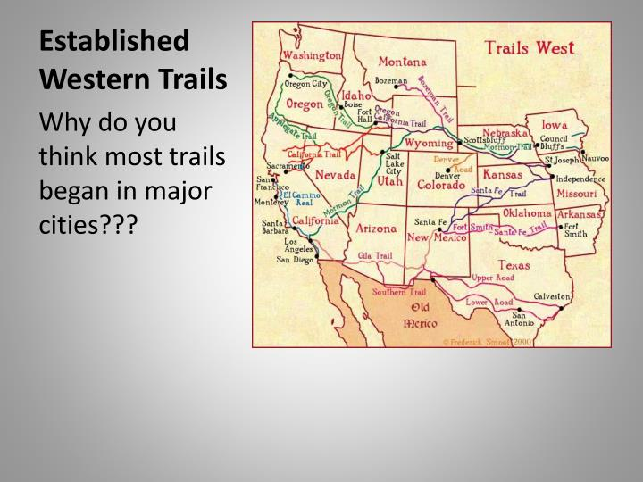 Established Western Trails