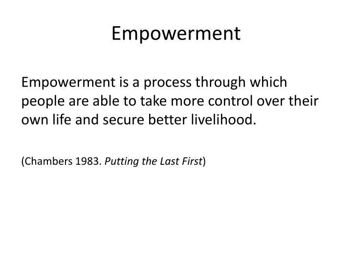 Empowerment