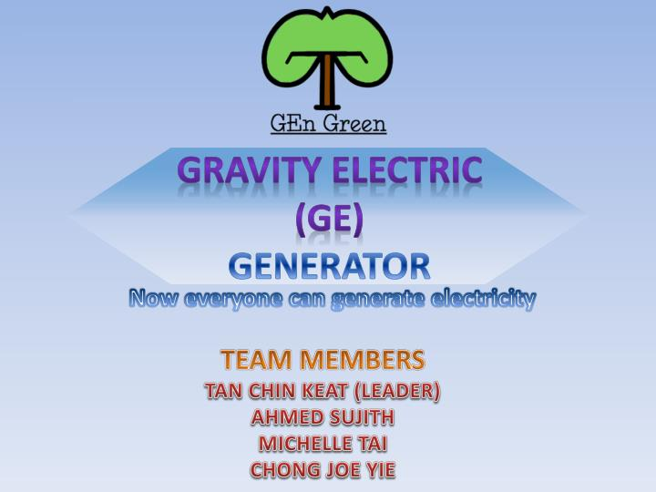 GRAVITY ELECTRIC