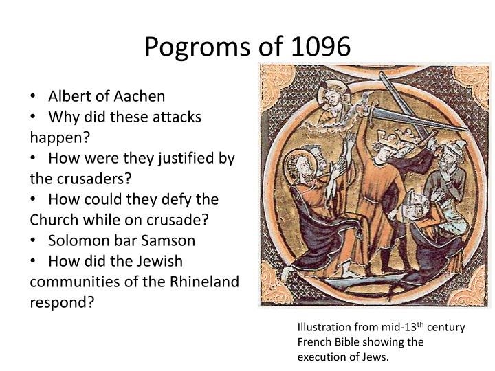 Pogroms of 1096
