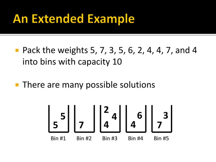 An Extended Example