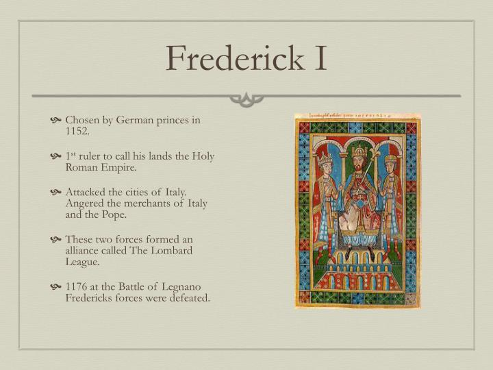 Frederick I