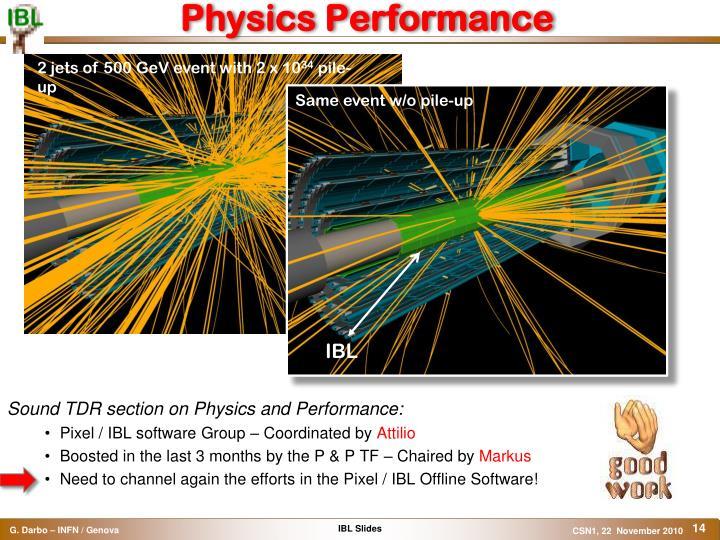 Physics Performance