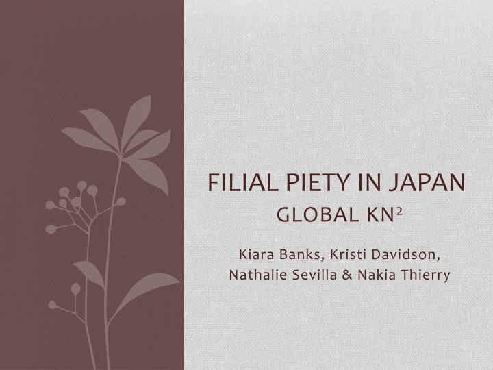 filial piety in japan