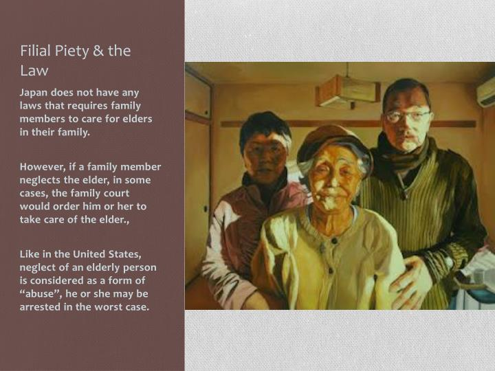 Filial Piety & the Law