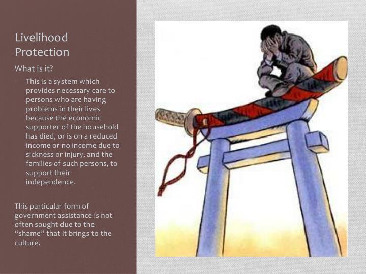 Livelihood Protection