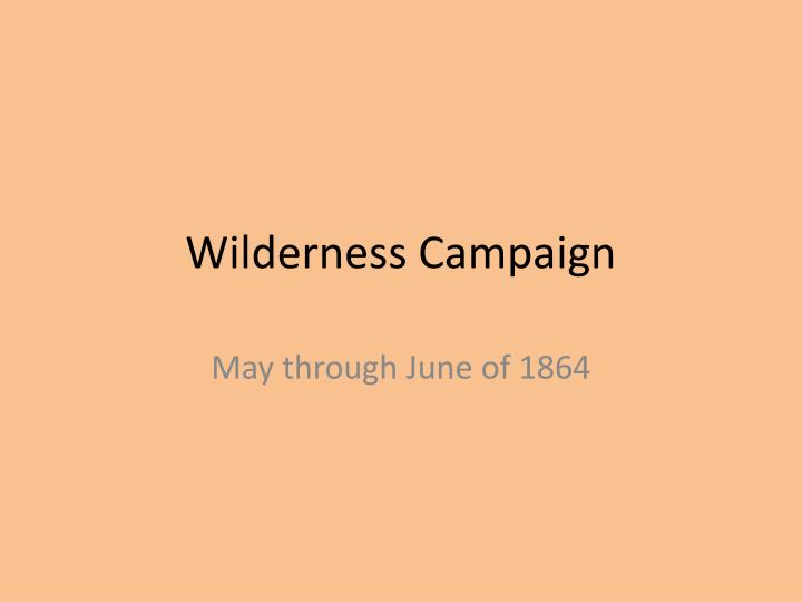 summary the trouble with wilderness