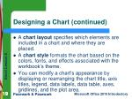 designing a chart continued1