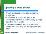updating a data source
