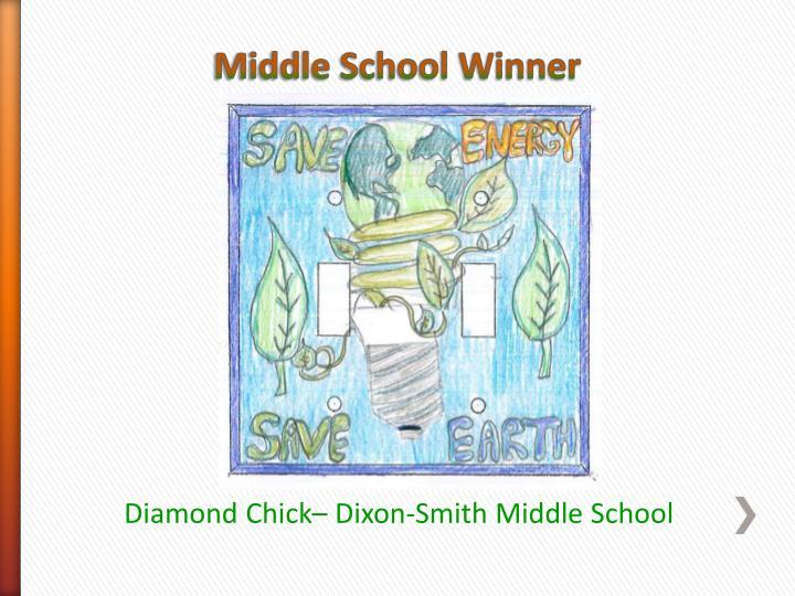 Middle School Winner