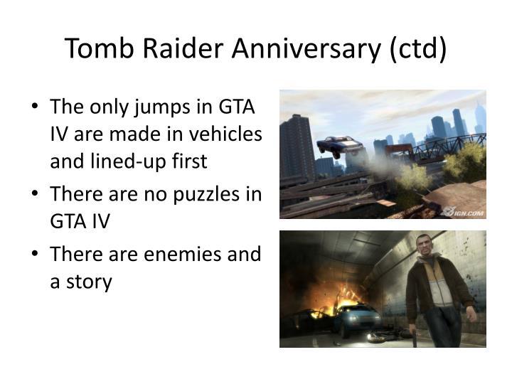 Tomb Raider Anniversary (