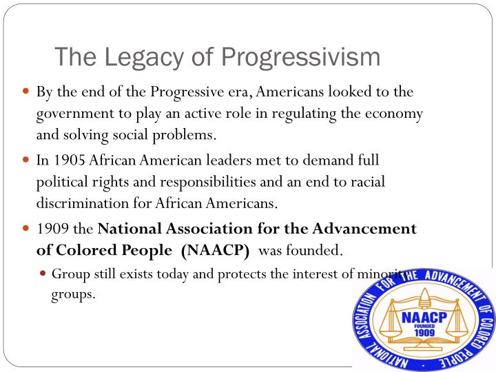 The Legacy of Progressivism