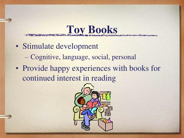 Toy books
