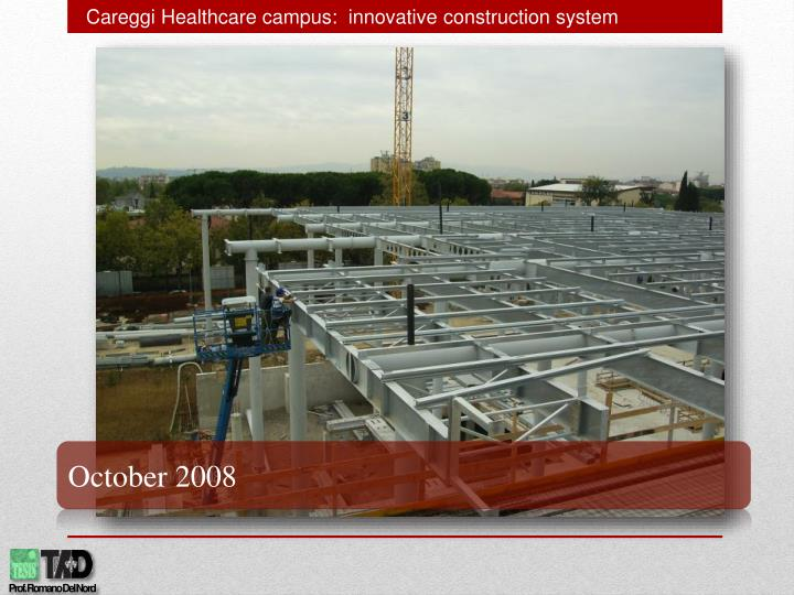 Careggi Healthcare campus:  innovative