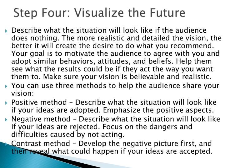 Step Four: Visualize the Future