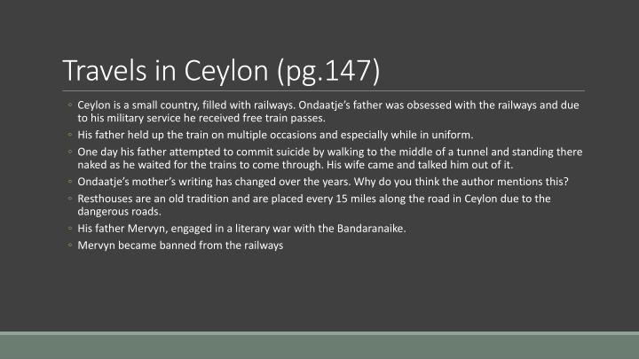 Travels in Ceylon (pg.147)