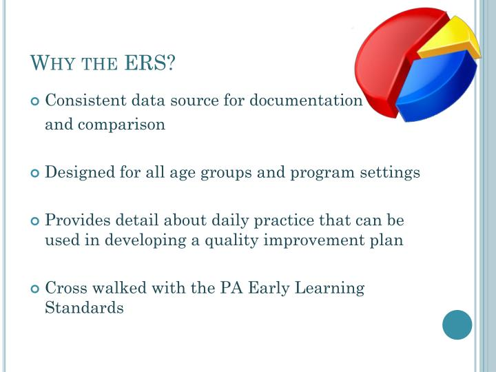 Why the ERS?