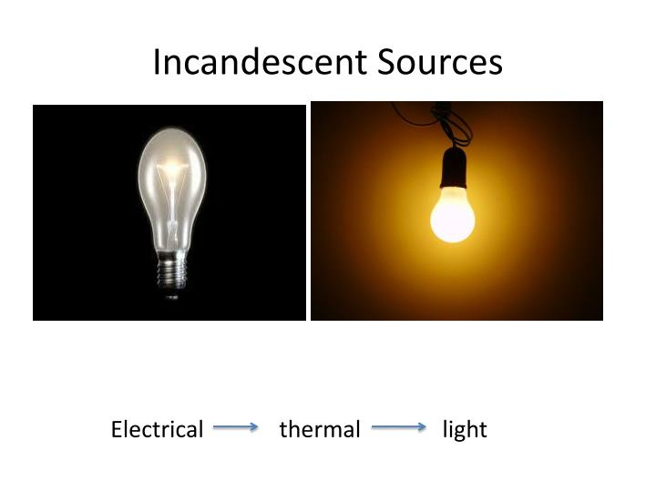 Incandescent Sources