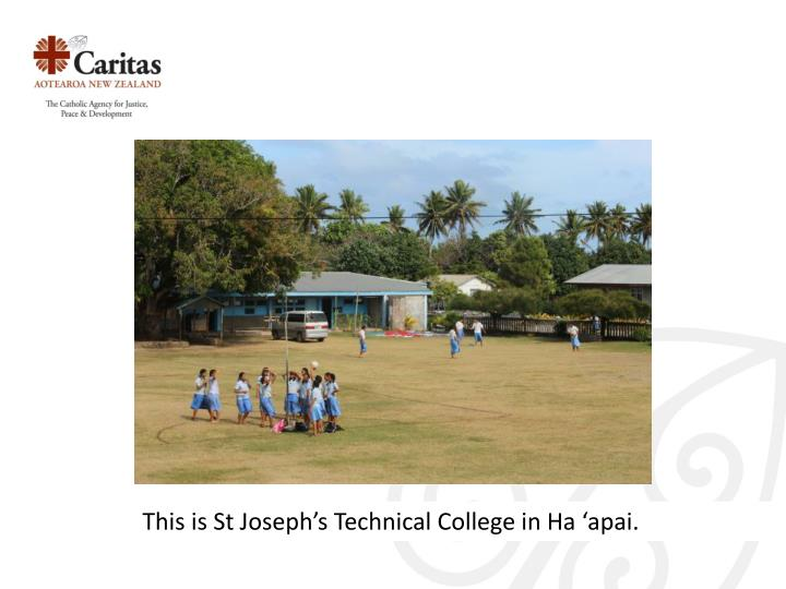 This is St Joseph's Technical College in Ha '