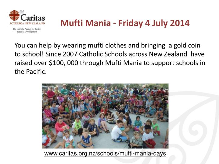 Mufti Mania - Friday 4 July 2014
