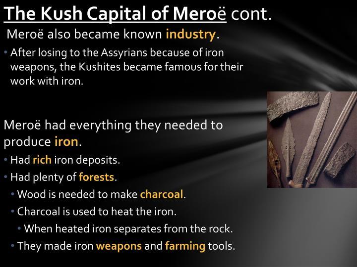 The Kush Capital of