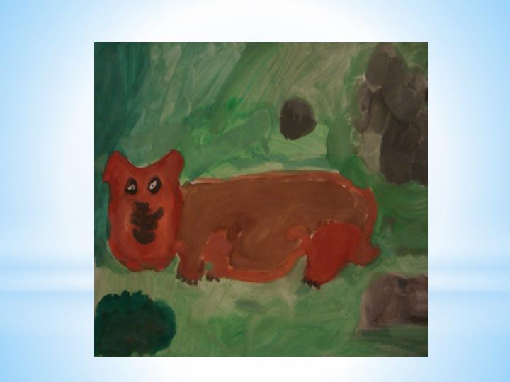 We painted our pets