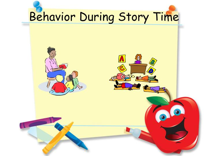 Behavior During Story Time