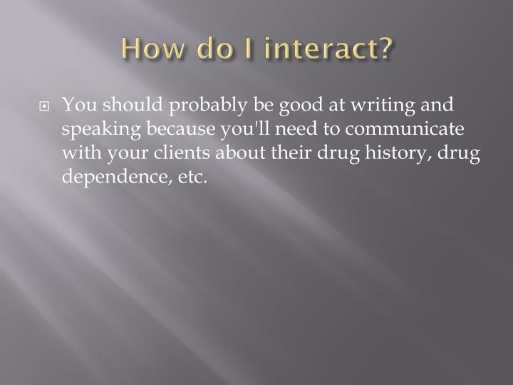 How do I interact?