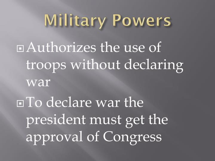 Military Powers