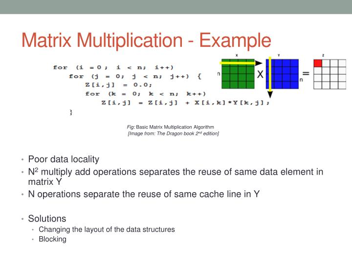 Matrix Multiplication - Example