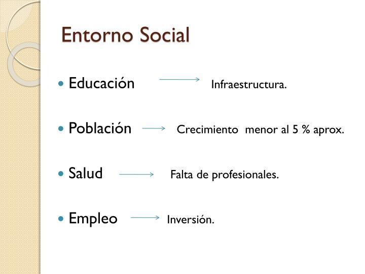 Entorno Social