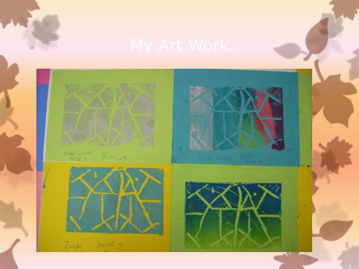 My Art Work