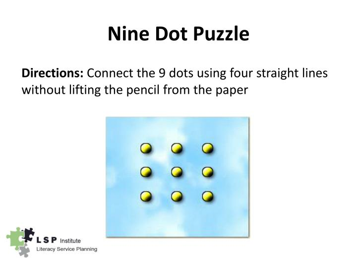 Nine Dot Puzzle