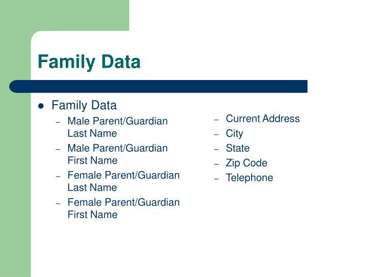 Family Data