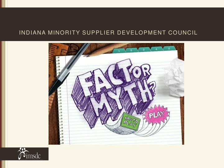 Indiana minority supplier development council