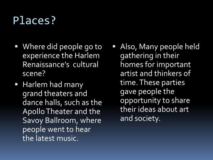 Places?