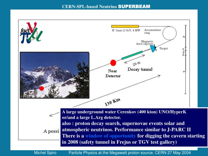 CERN-SPL-based Neutrino