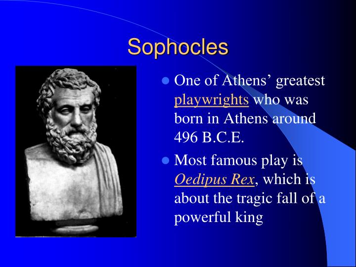 a discussion about the tragic hero in antigone by sophocles Start studying antigone discussion questions learn this complies with the definition of a tragic hero / i have killed my son and my wife (sophocles 244.