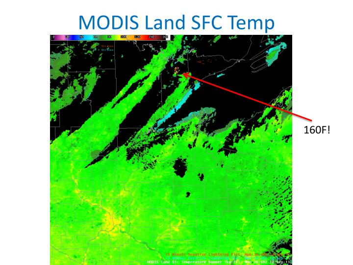 MODIS Land SFC Temp