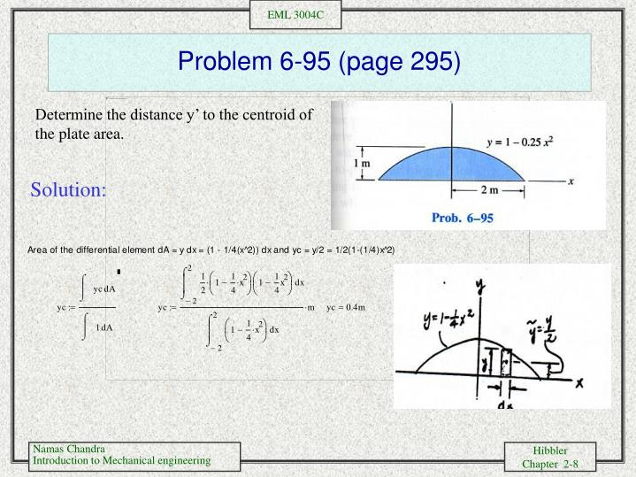 Problem 6-95 (page 295)