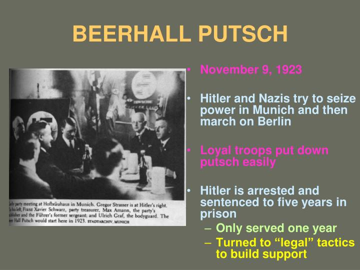 BEERHALL PUTSCH