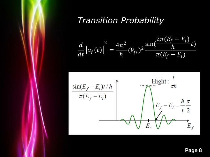 Transition Probability
