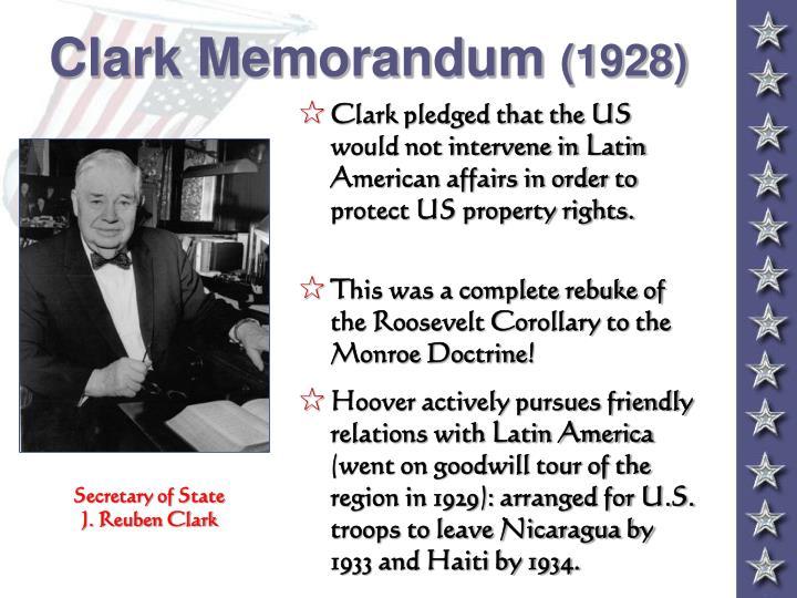 Clark Memorandum