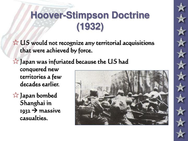 Hoover-Stimpson Doctrine