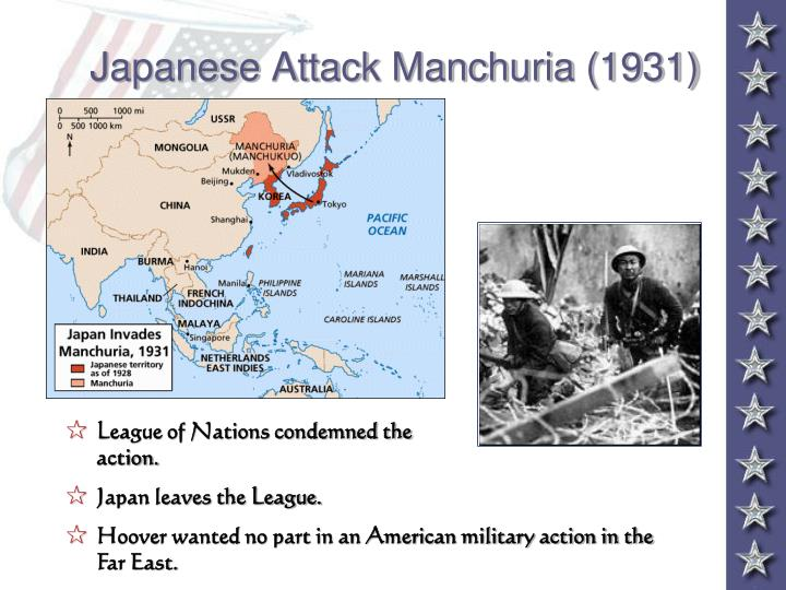 Japanese Attack Manchuria (1931)