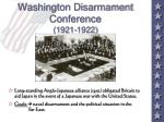 washington disarmament conference 1921 1922