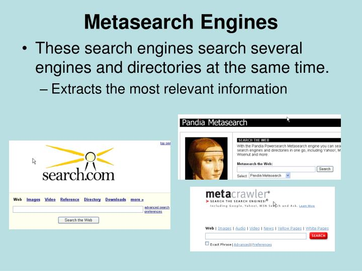 Metasearch Engines