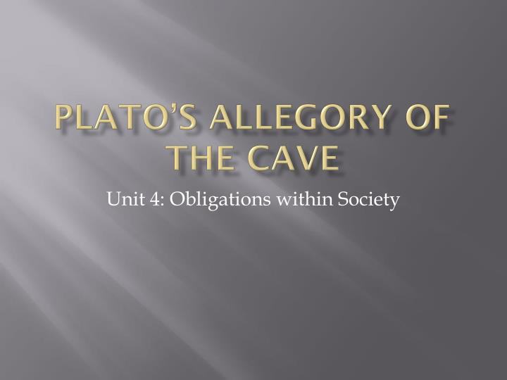 an overview of the allegory of the cave by plato Title length color rating : the dividing lien of plato's allegory of the cave - plato's allegory of the cave, located in book vii of the republic is one of the most.